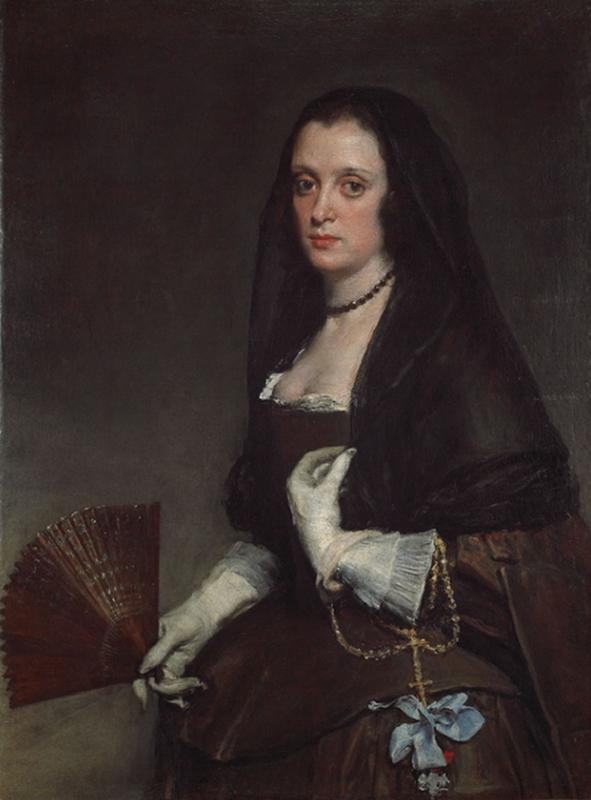 Velázquez, De dame met een waaier