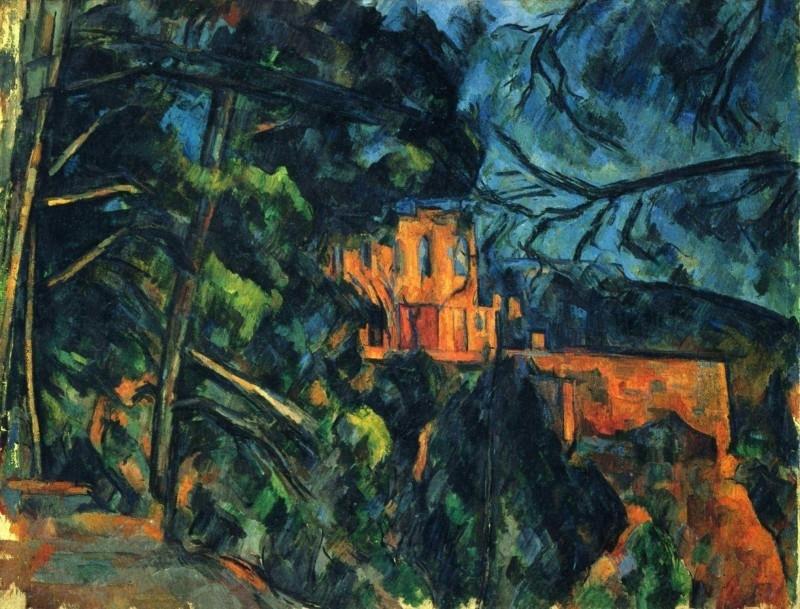 Cézanne, Zwart kasteel