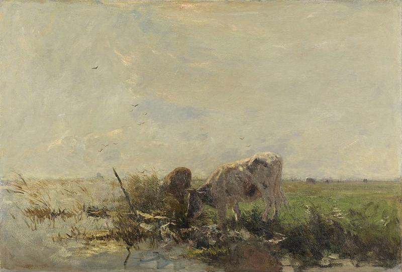 W. Maris, Koeien aan een plas