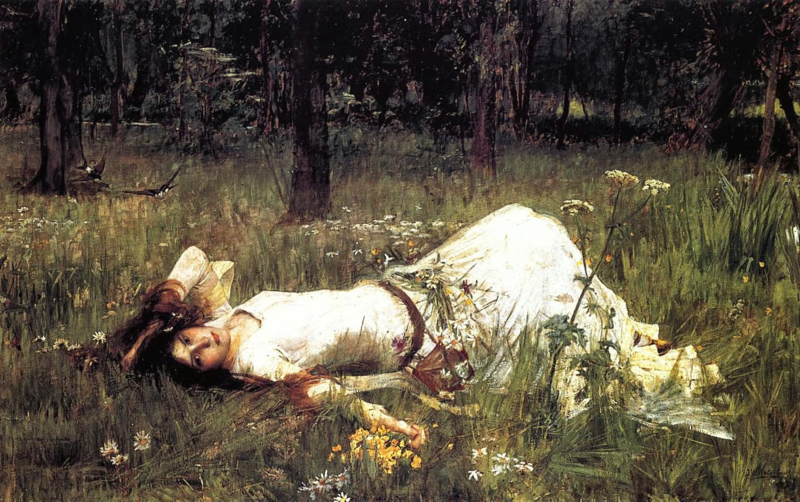 Waterhouse, Ophelia 2