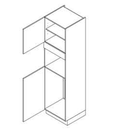 60x225 CM Hogekast t.b.v. Koel + combi Links - Lux