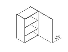 30x90 CM Bovenkast Rechts - Lux