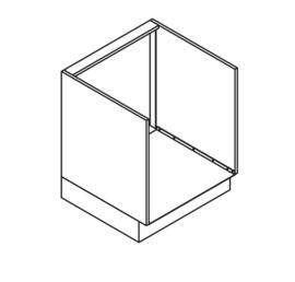 60 CM Onderkast t.b.v. Oven - Alpha Lack