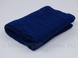 Sjaal blauw Kmar Koninklijke Marechaussee - met beschadiging - origineel