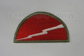 WWII US 78th Infantry Division patch - eigen aanmaak
