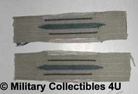Kraagspiegels M40 - algemene model - vroege donkergroene waffenfarbe