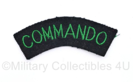 MVO Straatnaam Commando  - enkele straatnaam - 9 x 3 cm - origineel