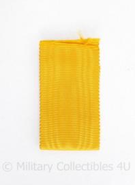 Nederlands medaille lint geel/oranje - 16 cm - origineel