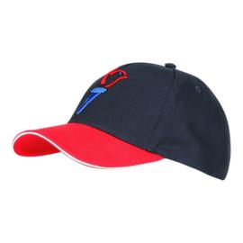 Baseball cap Baseball cap 75 jaar vrijheid - rood/blauw - one size