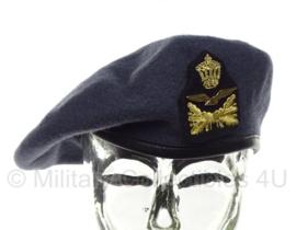 KLU Koninklijke Luchtmacht baret onderofficier - maat 58 - origineel