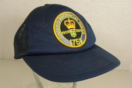Ontario Police 75th 1909-1984 Police Baseball cap - Art. 604 - origineel