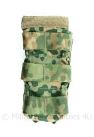 Nederlandse Leger nieuwste model NFP Multitone MOLLE rifle pouch 1xmag Sioen - 15 x 7 x 4 cm - origineel