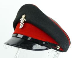 Britse Leger platte pet met insigne - Royal Signal Corps - maat 55 - origineel