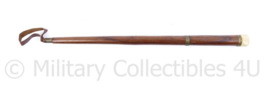Vintage militair zweepje - 50 x 2,5 x 1,5 cm- origineel