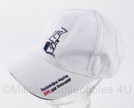 """NL KM baseball cap - """"525 jaar innovatief"""" - wit -  verstelbaar - origineel"""