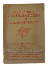 WO2 Duits Strassenbau vermessungswesen und wasserwirtschaft boek - origineel