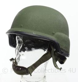 M-92-TC3 Oostenrijkse leger MSA CGFGallet  MICH helm NIJ L3a IIIa Helmet  - maat Medium of Large - origineel