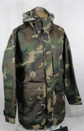 Korps Mariniers Forest camo bilaminaat jas - ONGEDRAGEN - maat Large = 6080/0005 - donker - origineel