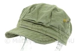 WO2 US Army HBT cap - maat 55 - origineel WO2