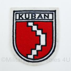 Wo2 Duits replica embleem KUBAN - nieuw gemaakt!