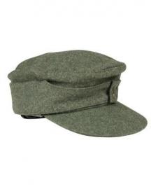 M43 pet Heer of SS - feldgrau Groen
