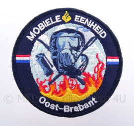"ME Mobiele Eenheid ""oost brabant"" embleem - met klittenband - afmeting 5 x 9 cm"