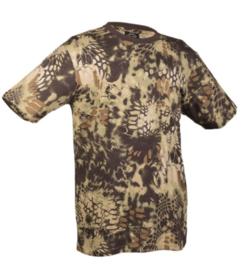 T shirt Mandra Wood camo