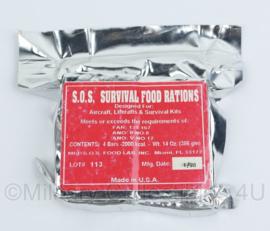 Us Army USAF US Air force SOS survival food Rations - verkoop voor verzameling, niet om te eten! -10,5x8x2,5 cm- origineel