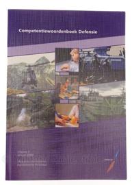 Defensie Competentiewoordenboek 2009 - origineel
