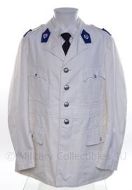 """Zomer uniform jasje Korps Rijkspolitie - """"opperwachtmeester"""" - maat 58 - origineel"""