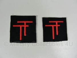 "British 50th Infantry Division Patch set - ""Northumberland"""