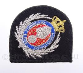 KMAR Koninklijke Marechaussee baret embleem, Officier - embroidered versie