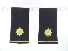 US Army dress uniform schouderstukken set - rang Major - origineel