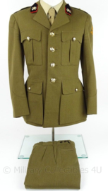 KL Landmacht DT uniform jas met broek  - model voor 1963 - lichting 1958 - maat 52 - origineel