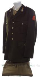 KL Nederlandse leger DT uniform SET uit '80 Onderluitenant - Rijdende Artillerie - maat 54 - origineel