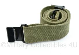 Korps Mariniers en KL jaren 60 wapen draagriem - lijkt op Wo2 US M1 Garand sling - origineel