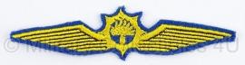 Dienst Luchtvaart, wing waarnemer Waterpolitie stof