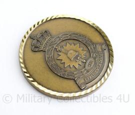 Klu Luchtmacht 301 squadron coin leerlingenmess Koninklijke Militaire School   - origineel