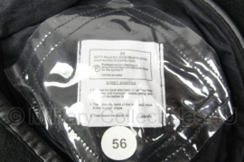 Britse baret donkergroen - maat 56 - origineel
