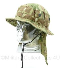 Britse Leger MTP camo tropical bush hat - short brimmed - maat 58 - zeldzaam - origineel