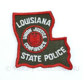 Louisiana State Police patch - Union Justice Confidence - 8 x 7,5 cm - origineel