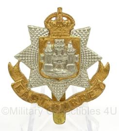 WO2 Britse pet of baret insigne East Surrey Regiment - afmeting 4 x 5 cm - origineel