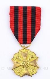 Belgisch Burgerlijk ereteken goude medaille  - Origineel