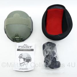 Ops-core Fast HC Skeleton helm inclusief beschermhoes met padding- nieuw - maat L/XL- origineel