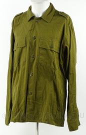 Israelische leger Uniform shirt - groen - maat XL origineel