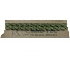 Broek elastiek - blousing band - groen - 1 paar