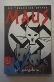 Boek De volledige editie Maus vertelling van een overlevende Art Spiegelman
