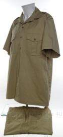Koninklijke Marine khaki overhemd en broek set - maat 52 (Large) - origineel