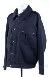 DB jas - maat 50 - donkerblauw - Nieuw