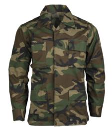 US BDU field jacket Ripstop - US Woodland